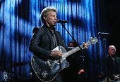 Jon Bon Jovi performs onstage at 'Howard Stern's Birthday Bash' presented by SiriusXM produced by Howard Stern Productions at Hammerstein Ballroom on...