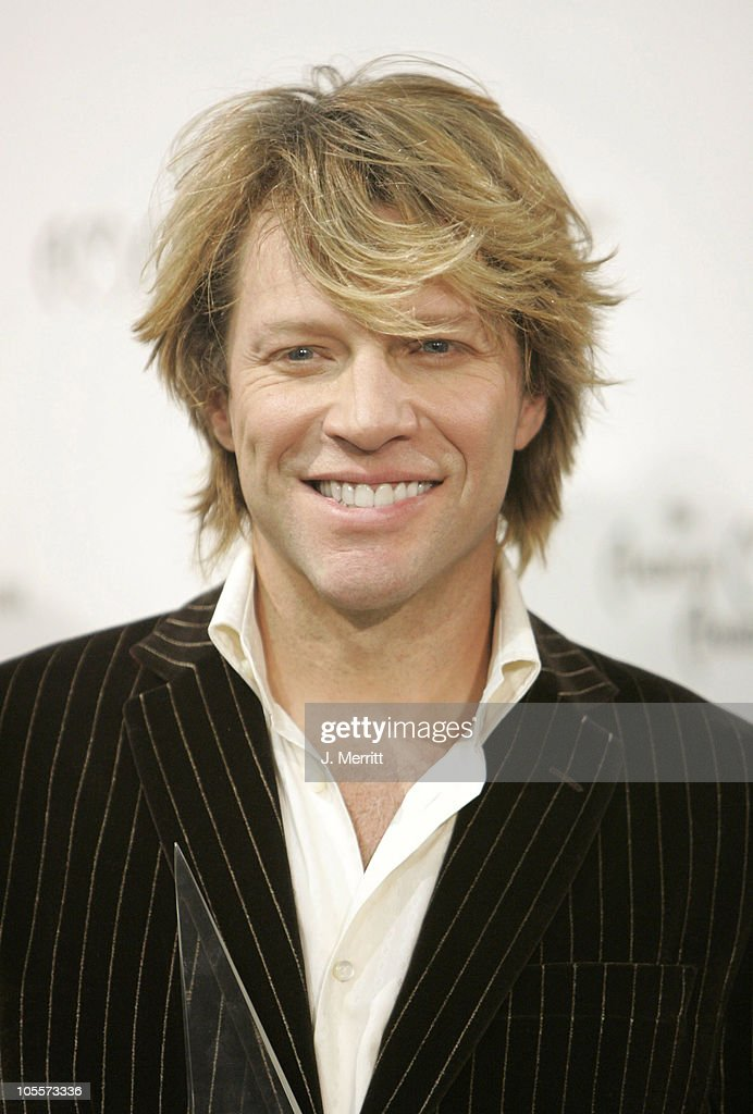 <a gi-track='captionPersonalityLinkClicked' href=/galleries/search?phrase=Jon+Bon+Jovi&family=editorial&specificpeople=201527 ng-click='$event.stopPropagation()'>Jon <a gi-track='captionPersonalityLinkClicked' href=/galleries/search?phrase=Bon+Jovi+-+Band&family=editorial&specificpeople=579991 ng-click='$event.stopPropagation()'>Bon Jovi</a></a>, recipient of the Award of Merit during 32nd Annual American Music Awards - Press Room at Shrine Auditorium in Los Angeles, California, United States.