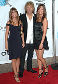 Jon Bon Jovi wife and daughter during Conde Nast Media Group Kicks off New York Fall Fashion Week with 3rd Annual Fashion Rocks Concert Arrivals at...