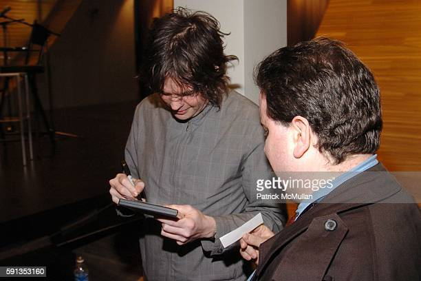 Jon Brion and Signing Autograph attend FONDAZIONE PRADA presents TRIBECA TALKS with an interview by Lisa Robinson to Jon Brion as part of The Tribeca...