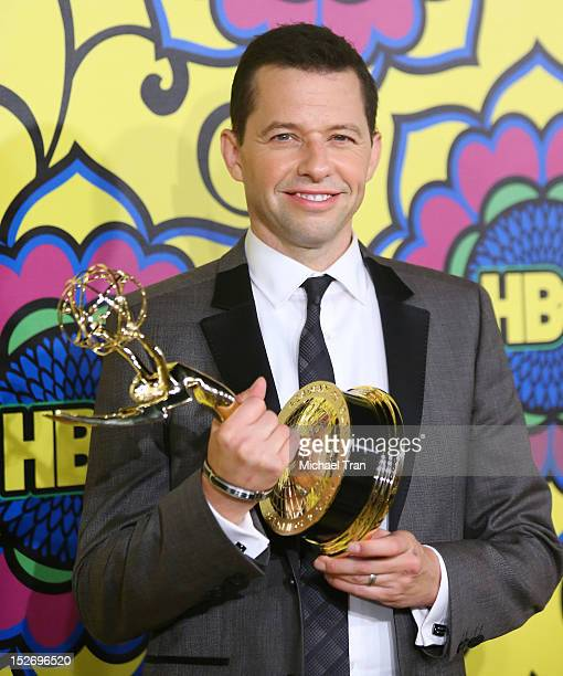 Jon Cryer arrives at HBO'S Post 64th Primetime Emmy Awards reception held at The Plaza at the Pacific Design Center on September 23 2012 in Los...