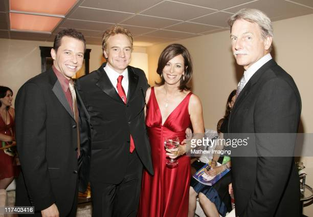 Jon Cryer Bradley Whitford Jane Kaczmarek and Mark Harmon*exclusive*