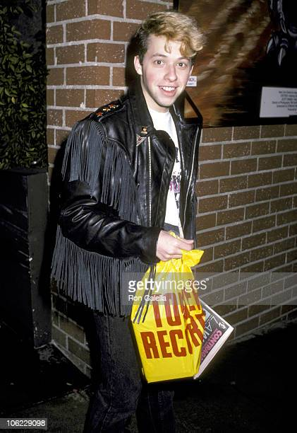 Jon Cryer during Jon Cryer Sighting at Tower Records December 5 1986 at Tower Records in New York City New York United States