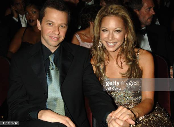 Jon Cryer nominee Outstanding Supporting Actor In A Comedy Series for 'Two and a Half Men' and Lisa Joyner **EXCLUSIVE**