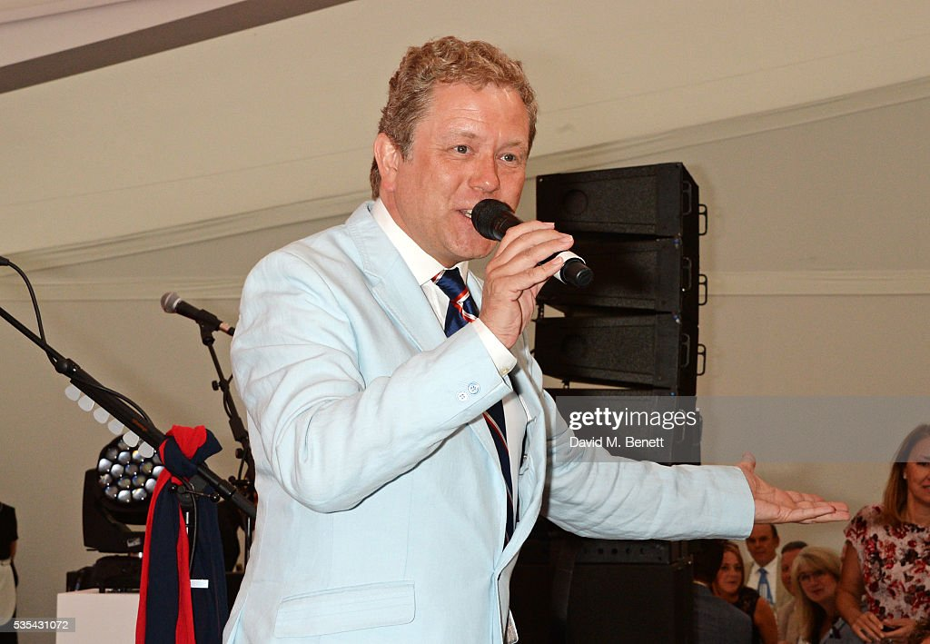 Jon Culshaw attends day two of the Audi Polo Challenge at Coworth Park on May 29, 2016 in London, England.