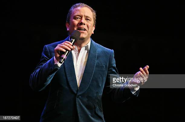 Jon Culshaw performs on stage as part of the The Prince's Trust comedy gala We Are Most Amused at Royal Albert Hall on November 28 2012 in London...