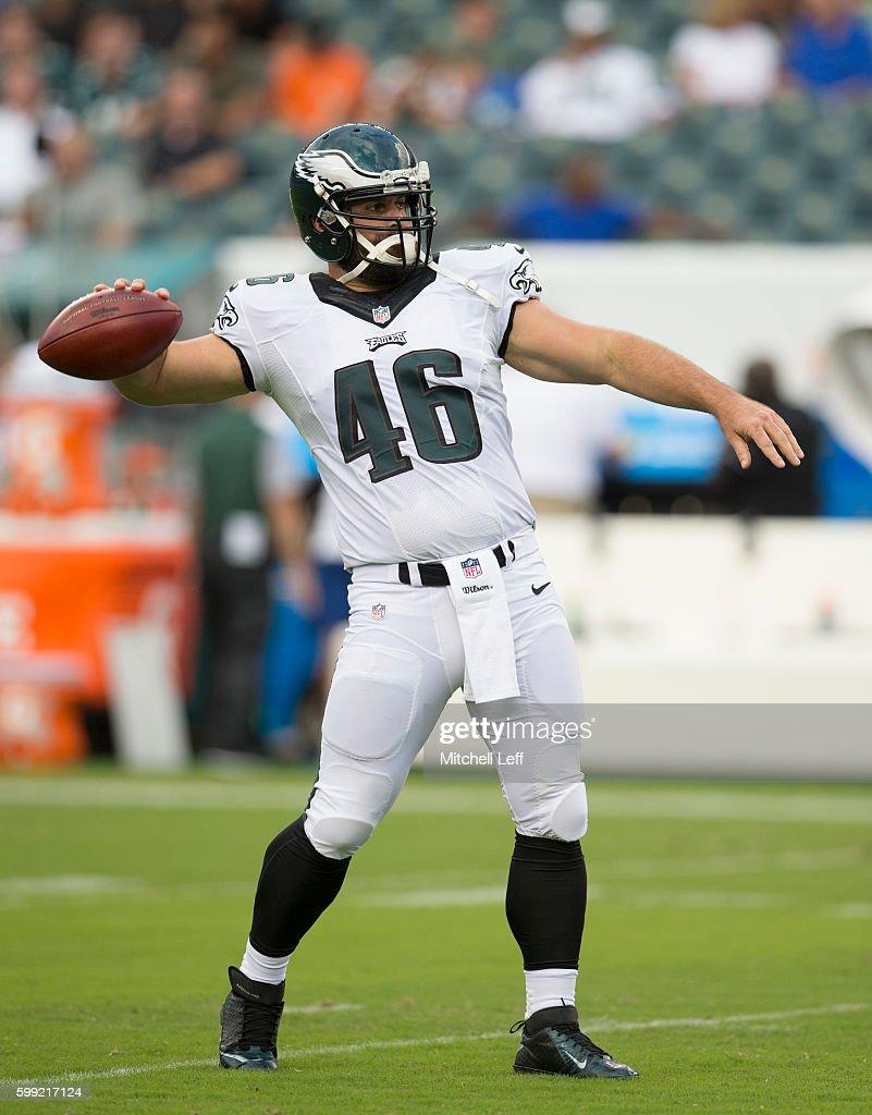 Wholesale NFL Nike Jerseys - Philadelphia Eagles player Jon Dorenbos is not only a talented ...