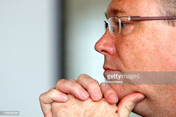 Jon Eddy Abdullah chief executive officer of Total Access Communication Pcl pauses during an interview in Bangkok Thailand on Monday Sept 19 2011...