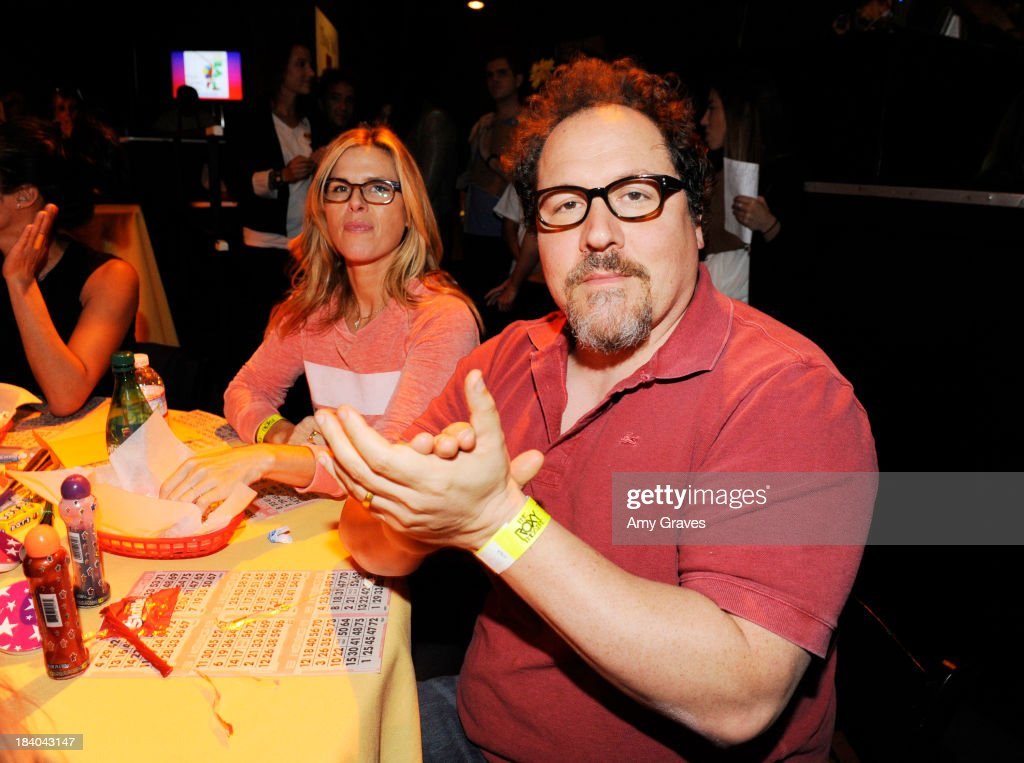 Jon Favreau attends Bingo At The Roxy to Benefit The Painted Turtle at The Roxy Theatre on October 10, 2013 in West Hollywood, California.