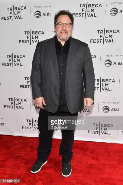 Jon Favreau attends Tribeca Talks Directors Series Jon Favreau with Scarlett Johansson during the 2017 Tribeca Film Festival at SVA Theatre on April...