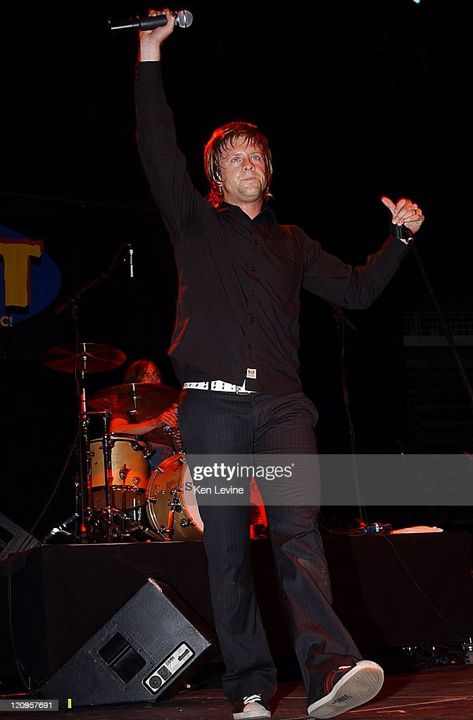 Jon Foreman of Switchfoot during 971 ZHT Jingle Ball December 1 2004 at Delta Center in Salt Lake City Utah United States