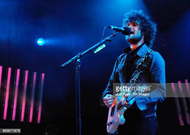 Jon Fratelli of The Fratellis performs at BBC Radio 1's Big Weekend in Preston