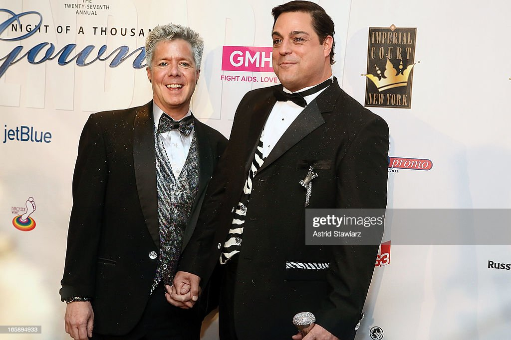 Jon Galluccio and Michael Galluccio attend the 27th Annual Night Of A Thousand Gowns at the Hilton New York on April 6, 2013 in New York City.