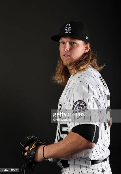 Jon Gray of the Colorado Rockies poses for a portrait during photo day at Salt River Fields at Talking Stick on February 23 2017 in Scottsdale Arizona