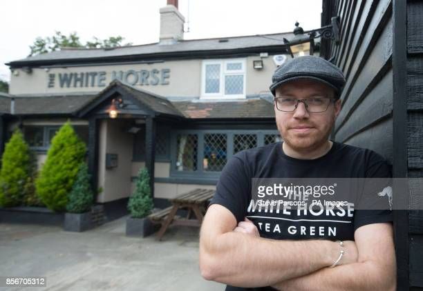 Jon Haines owner of the White Horse in Tea Green near Luton Airport who gave Monarch employees free food after Monarch Airlines collapsed into...