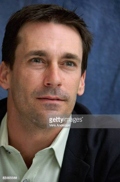Jon Hamm at the 'Mad Men' press conference at the Four Seasons Hotel in Beverly Hills California on September 18 2007