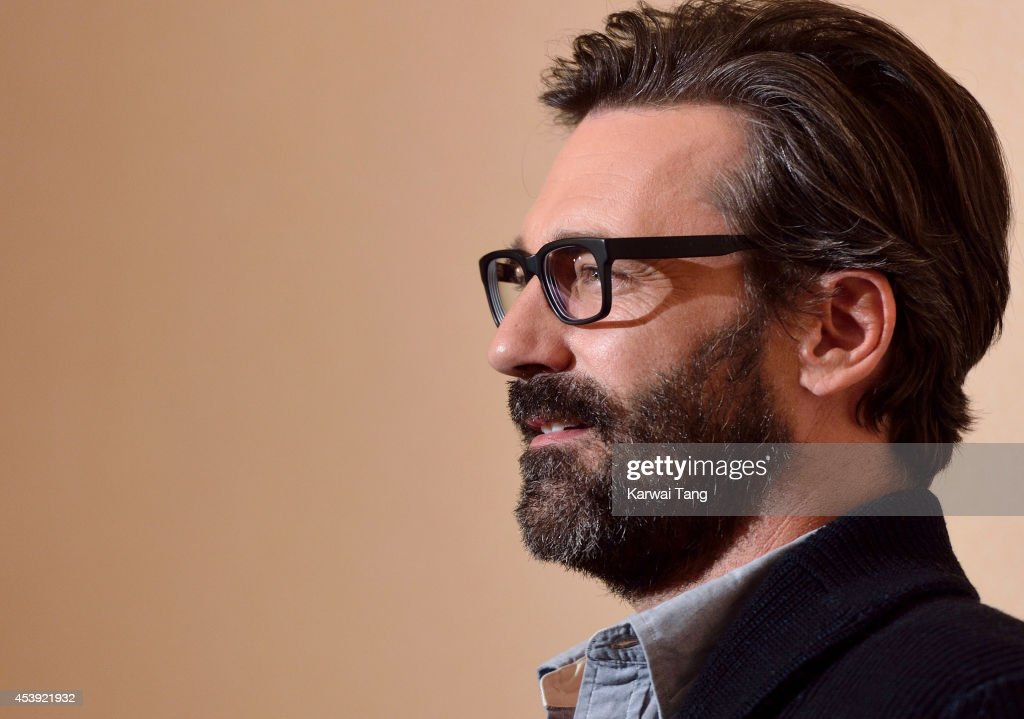Jon Hamm attends a Gala screening of 'Million Dollar Arm' at May Fair Hotel on August 21 2014 in London England