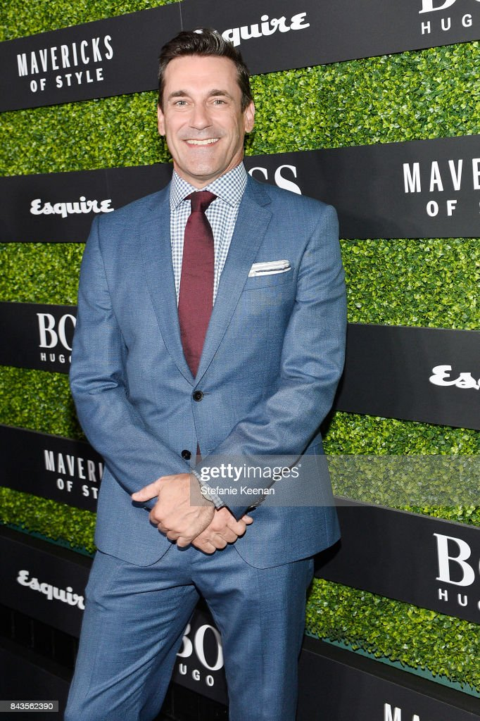 Jon Hamm attends Esquire Celebrates September Issue's 'Mavericks of Style' Presented by Hugo Boss at Chateau Marmont on September 6, 2017 in Los Angeles, California.