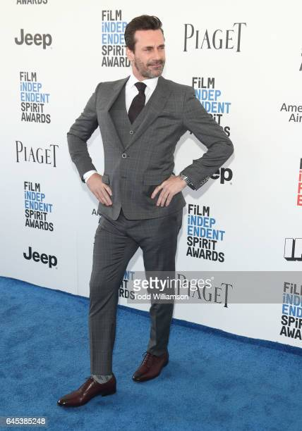 Jon Hamm attends the 2017 Film Independent Spirit Awads on February 25 2017 in Santa Monica California