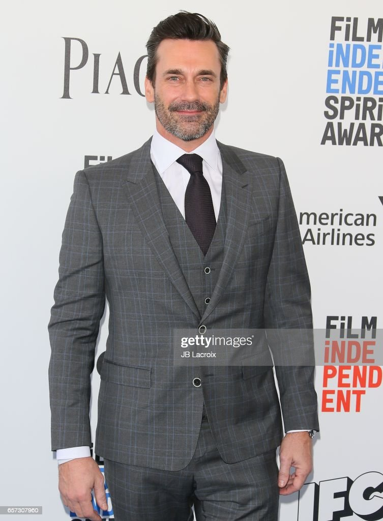 Jon Hamm attends the 2017 Film Independent Spirit Awards on February 25, 2017 in Santa Monica, California.
