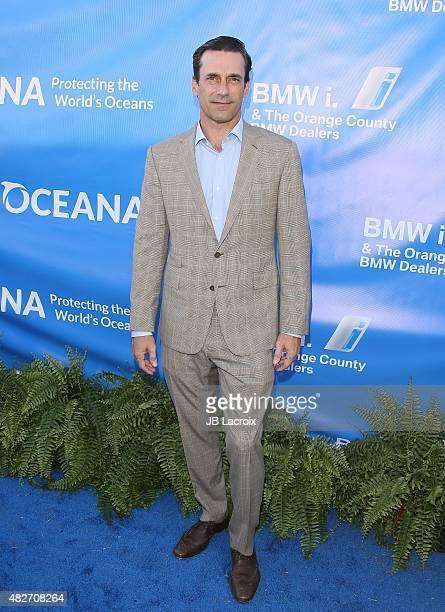Jon Hamm attends the 8th annual Oceana SeaChange summer party on August 1 2015 in Dana Point California