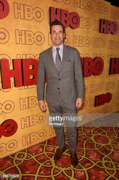 Jon Hamm attends the HBO's Official 2017 Emmy After Party at The Plaza at the Pacific Design Center on September 17 2017 in Los Angeles California