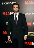 Jon Hamm attends the 'Mad Men' New York Special Screening at The Museum of Modern Art on March 22 2015 in New York City