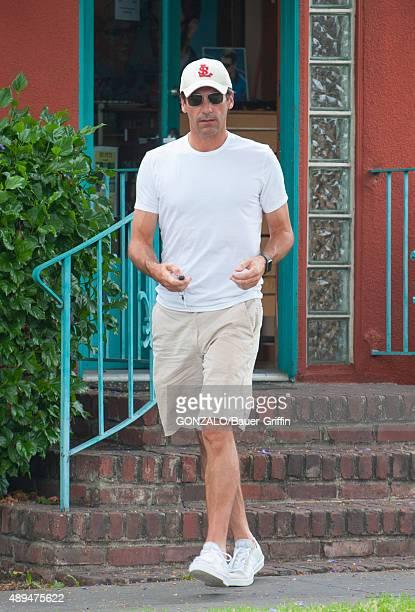 Jon Hamm is seen on September 21 2015 in Los Angeles California