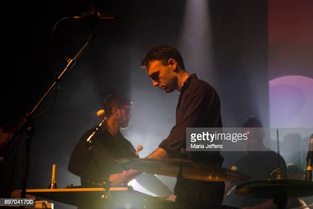 Jon Hering of Ex Easter Island Head performs during the Supersonic Festival on June 17 2017 in Birmingham England