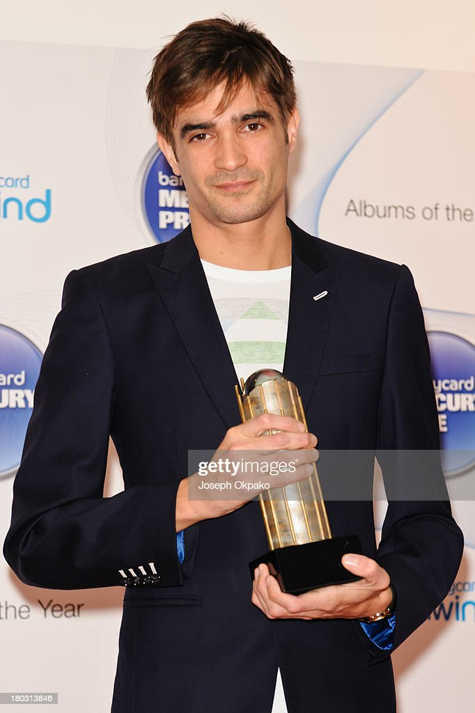 Jon Hopkins attends the announcement of the Barclaycard Mercury Prize shortlist at The Hospital Club on September 11 2013 in London England