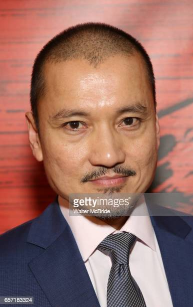Jon Jon Briones attends The Opening Night After Party for the New Broadway Production of 'Miss Saigon' at Tavern on the Green on March 23 2017 in New...
