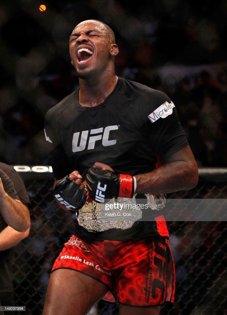UFC 145: Jones v Evans