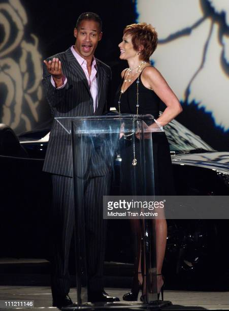 Jon Kelley and Lauren Holly during 2nd Annual LA Fashion Awards at Orpheum Theatre in Los Angeles California United States