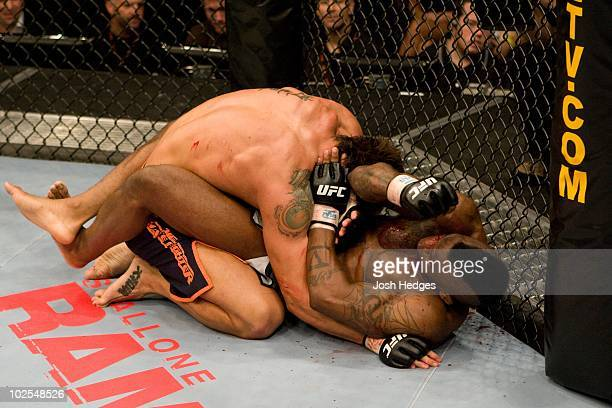 Jon Koppenhaver def Jared Rollins TKO 201 round 3 during The Ultimate Fighter 6 Finale on December 8 2007 in Las Vegas Nevada