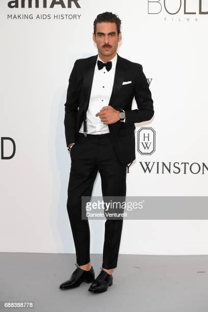 Jon Kortajarena arrives at the amfAR Gala Cannes 2017 at Hotel du CapEdenRoc on May 25 2017 in Cap d'Antibes France