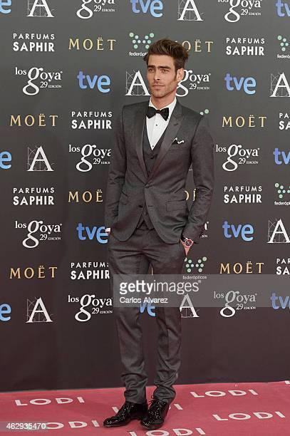 Jon Kortajarena attends Goya Cinema Awards 2014 at Centro de Congresos Principe Felipe on February 7 2015 in Madrid Spain