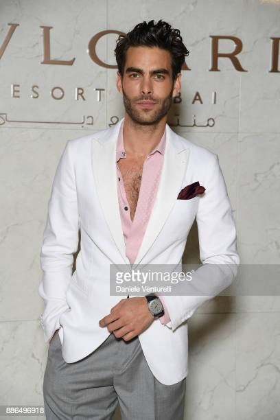 Jon Kortajarena attends the Grand Opening of Bulgari Dubai Resort on December 5 2017 in Dubai United Arab Emirates