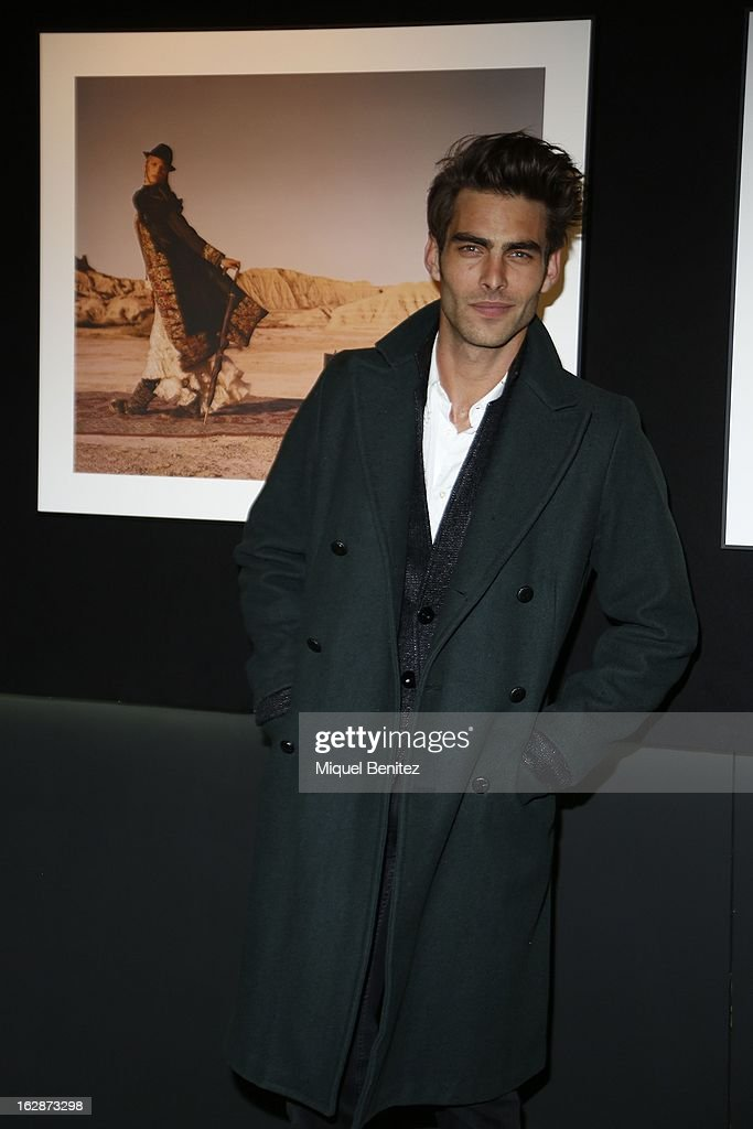 <a gi-track='captionPersonalityLinkClicked' href=/galleries/search?phrase=Jon+Kortajarena&family=editorial&specificpeople=4684429 ng-click='$event.stopPropagation()'>Jon Kortajarena</a> attends the 'Jaime de la Iguana Exhibition' at Palau Robert on February 28, 2013 in Barcelona, Spain.