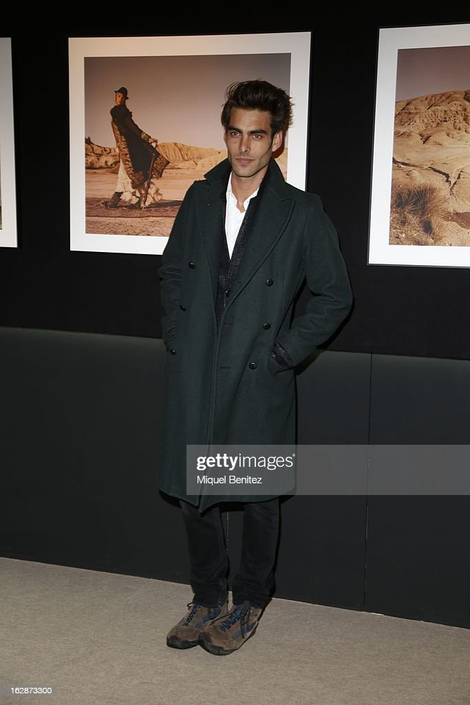 Jon Kortajarena attends the 'Jaime de la Iguana Exhibition' at Palau Robert on February 28, 2013 in Barcelona, Spain.