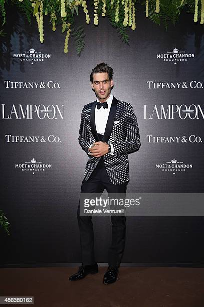 Jon Kortajarena attends the Lampoon Gala during the 72nd Venice Film Festival at Palazzo Pisani Moretta on September 3 2015 in Venice Italy