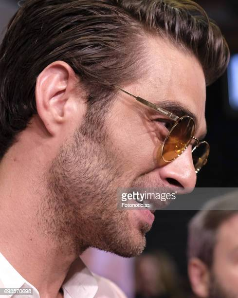 Jon Kortajarena attends the 'Pieles' premiere pink carpet at Capitol cinema on June 7 2017 in Madrid Spain