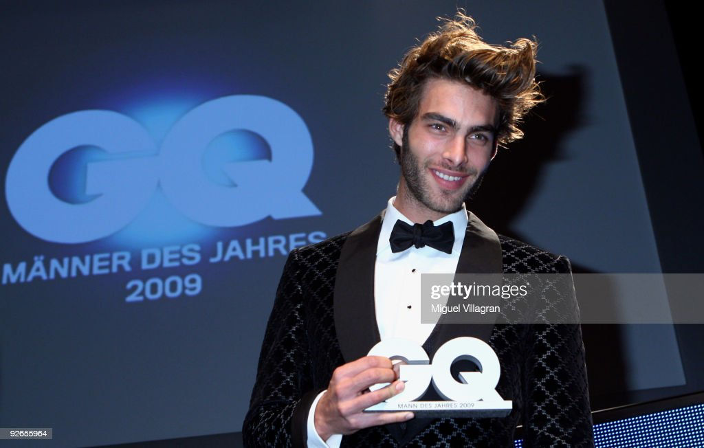 Jon Kortajarena poses for the media after the GQ Men Of The Year 2009 award ceremony on November 3 2009 in Munich Germany