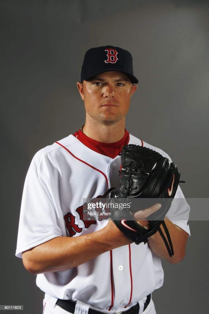 <a gi-track='captionPersonalityLinkClicked' href=/galleries/search?phrase=Jon+Lester&family=editorial&specificpeople=832746 ng-click='$event.stopPropagation()'>Jon Lester</a> of the Boston Red Sox poses during photo day at the Red Sox spring training complex on February 24, 2008 in Fort Myers, Florida.