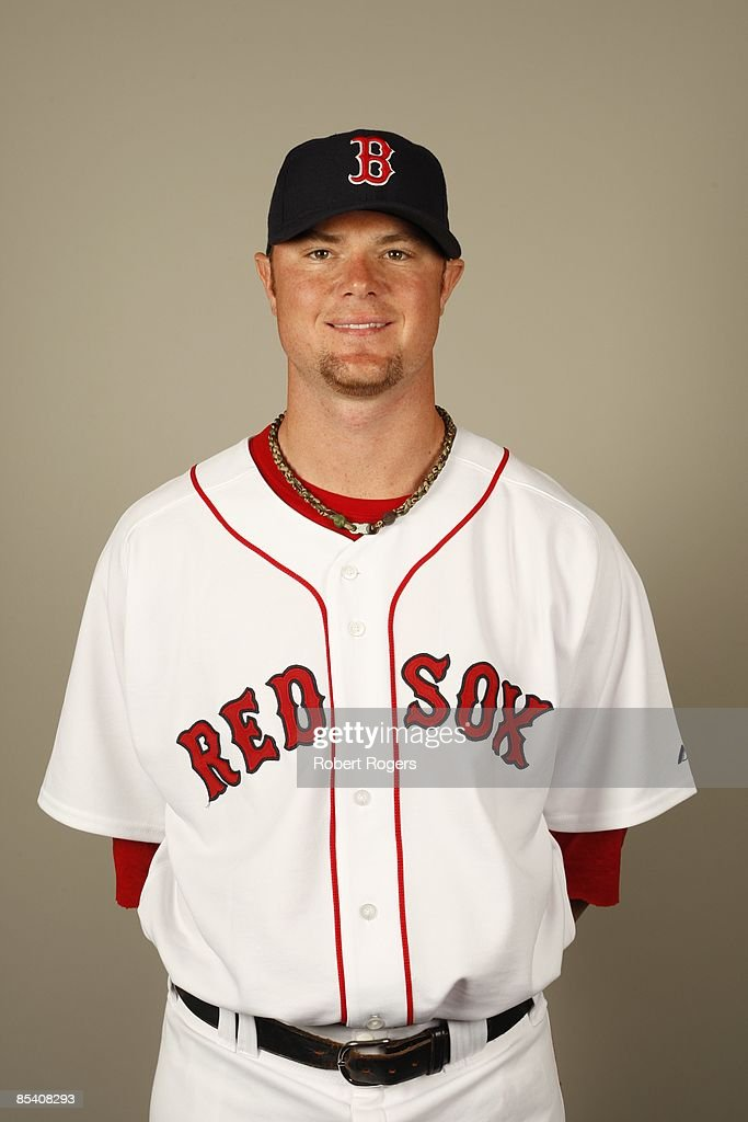 Jon Lester of the Boston Red Sox poses during Photo Day on Sunday, February 22, 2009 at City of Palms Park in Fort Myers, Florida.