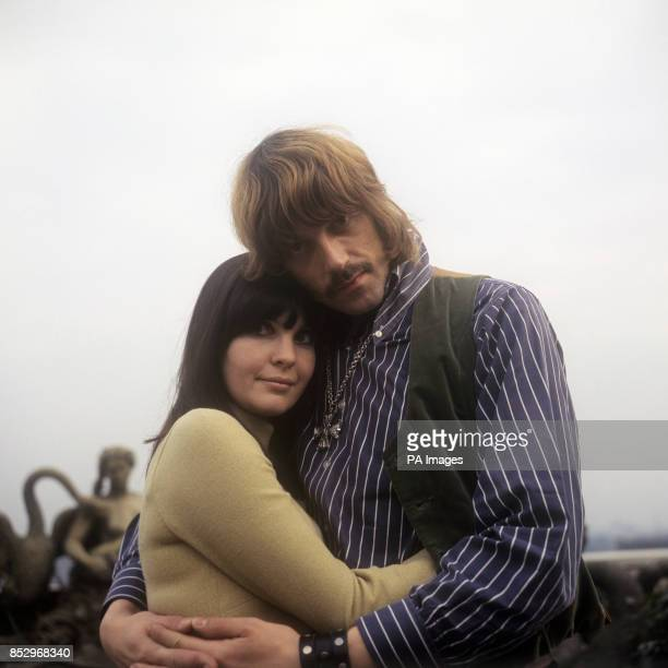 Jon Lord of Deep Purple and composer of 'Concerto for Group and Orchestra' with his fiancee Judith Fielding