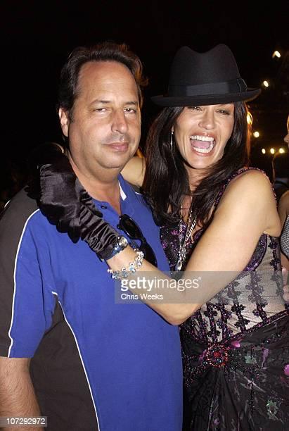 Jon Lovitz and Janice Dickinson during MercedesBenz Fall 2004 Fashion Week at Smashbox Studios Sue Wong Frontrow and Backstage at Smashbox Studios in...