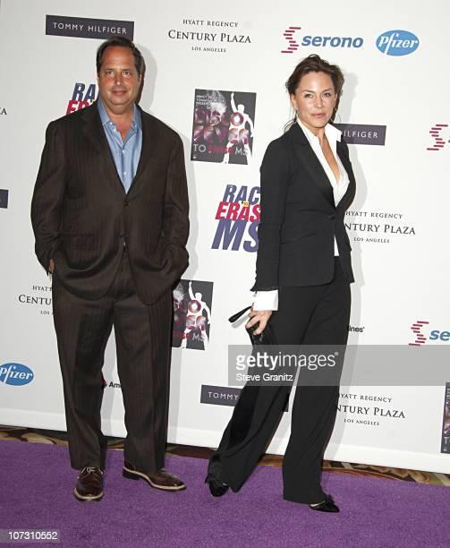 Jon Lovitz and Krista Allen during 13th Annual Race to Erase MS Sponsored by Nancy Davis and Tommy Hilfiger Arrivals at Hyatt Regency Century Plaza...