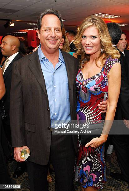 Jon Lovitz and Lynn Palmer#13#10 during 13th Annual Race to Erase MS Sponsored by Nancy Davis and Tommy Hilfiger Silent Auction at Hyatt Regency...