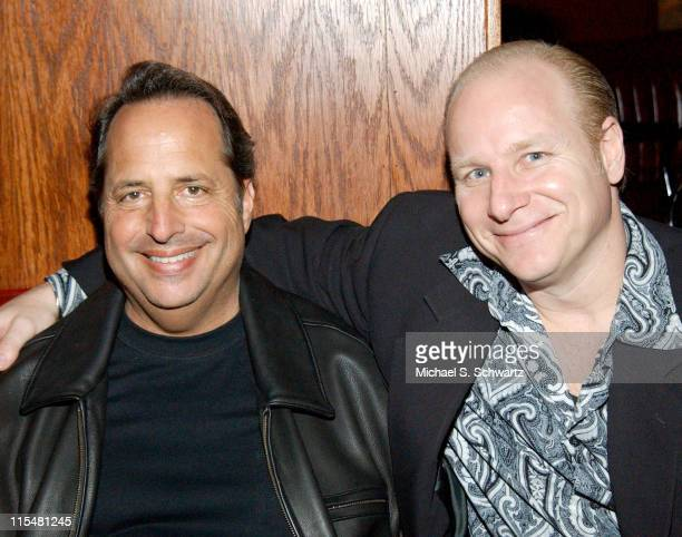 Jon Lovitz and Mike Marino during Jon Lovitz Dane Cook Tony Rock and Jeff Cesario Perform at The Laugh Factory at The Laugh Factory in Hollywood...