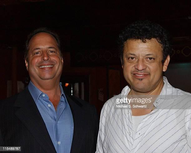 Jon Lovitz and Paul Rodriguez during LA County Young Democrats' Laurel Awards at The Laugh Factory at The Laugh Factory in Hollywood California...